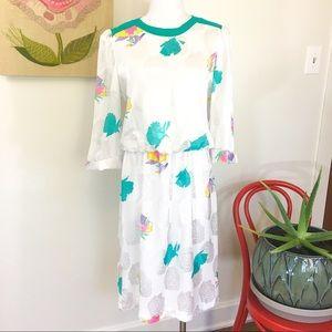 Vintage 80's Sunday Dress